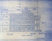 Disneyland Haunted Mansion Elevation Blueprint