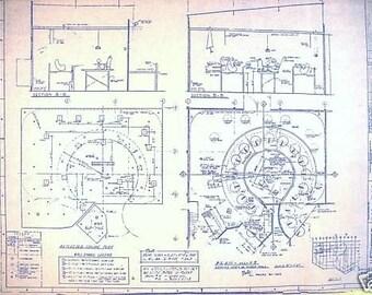 Popular items for disney world haunt mansion on etsy for Haunted mansion blueprints