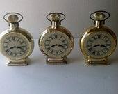 Avon Calling ... A Set Of Three Vintage Avon Pocket Watch Bottles