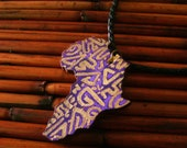 Urban Afrique - Handpainted Graffiti Pendant Necklace