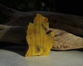 Handmade Pumpkin Spice Soap - Michigan Shaped