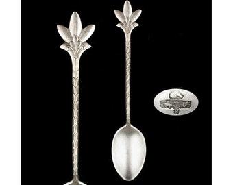 Antique Sterling Silver Figural Gorham Demitasse Spoon