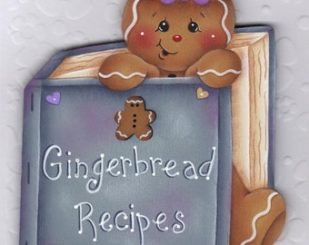 Gingerbread Recipes E-Pattern