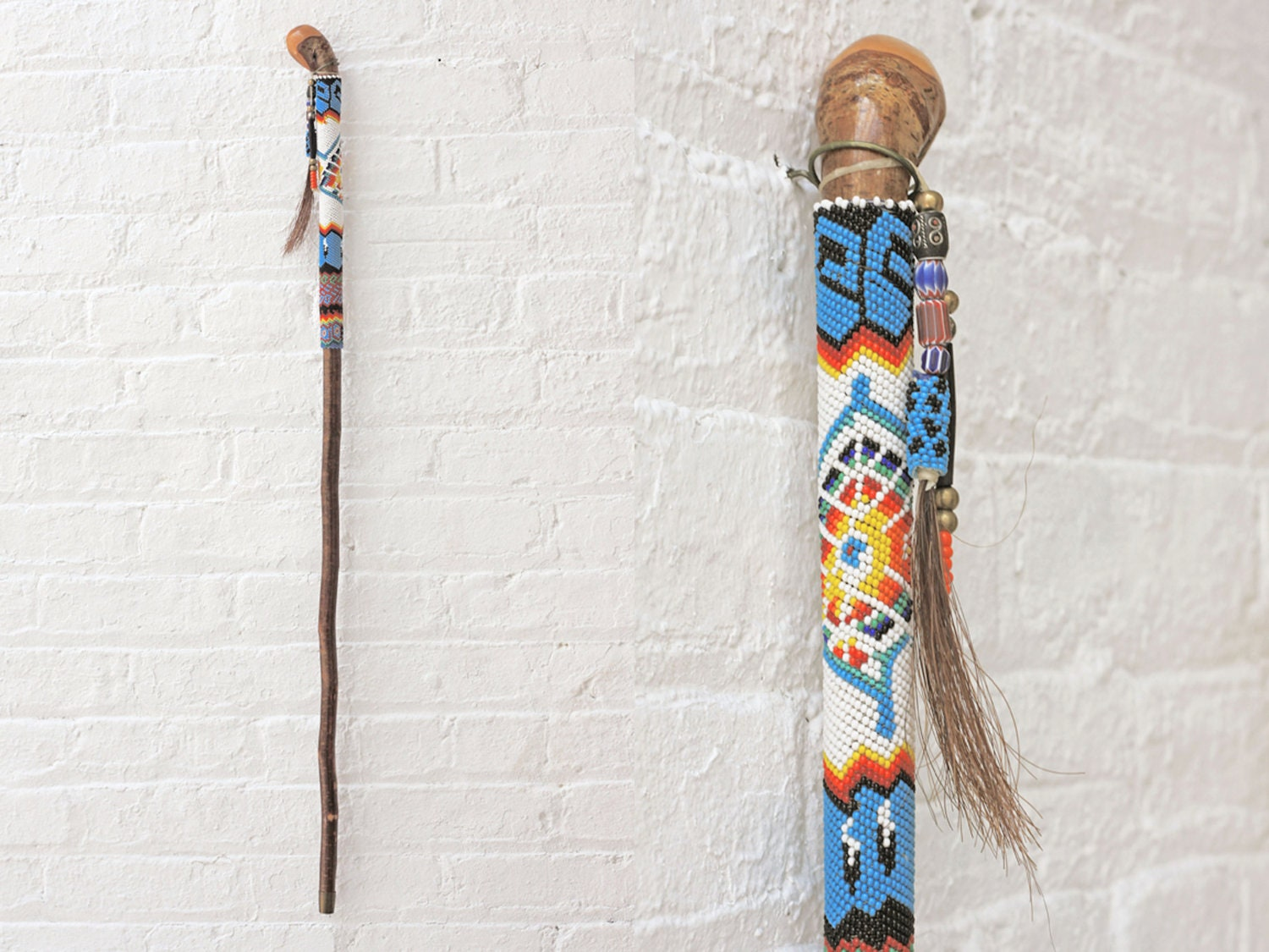 Vintage Native American Walking Stick