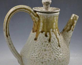 Salt Fired Teapot