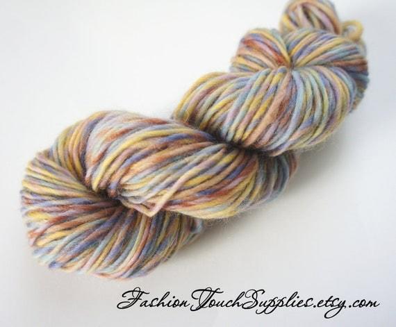 Delicate, Hand Spun Merino Yarn in Pastel Purples