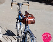 Bike Beer Growler Holder Cover Carrier - Bicycle Mounted with Personalized Graphics