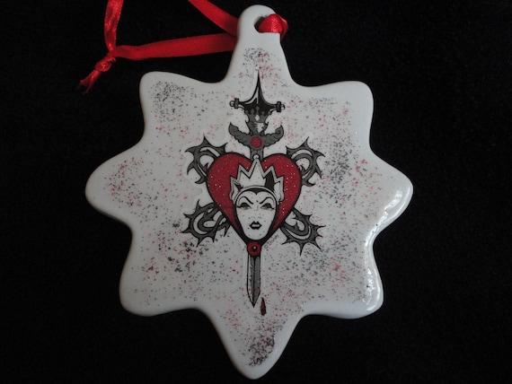 Disney Villains EVIL Queen from Snow White Christmas ornament Disney Evil Queen Ornament