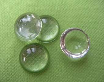 22mm glass dome glass cabochon, glass cabs, clear glass cabochon wholesale - 100pcs