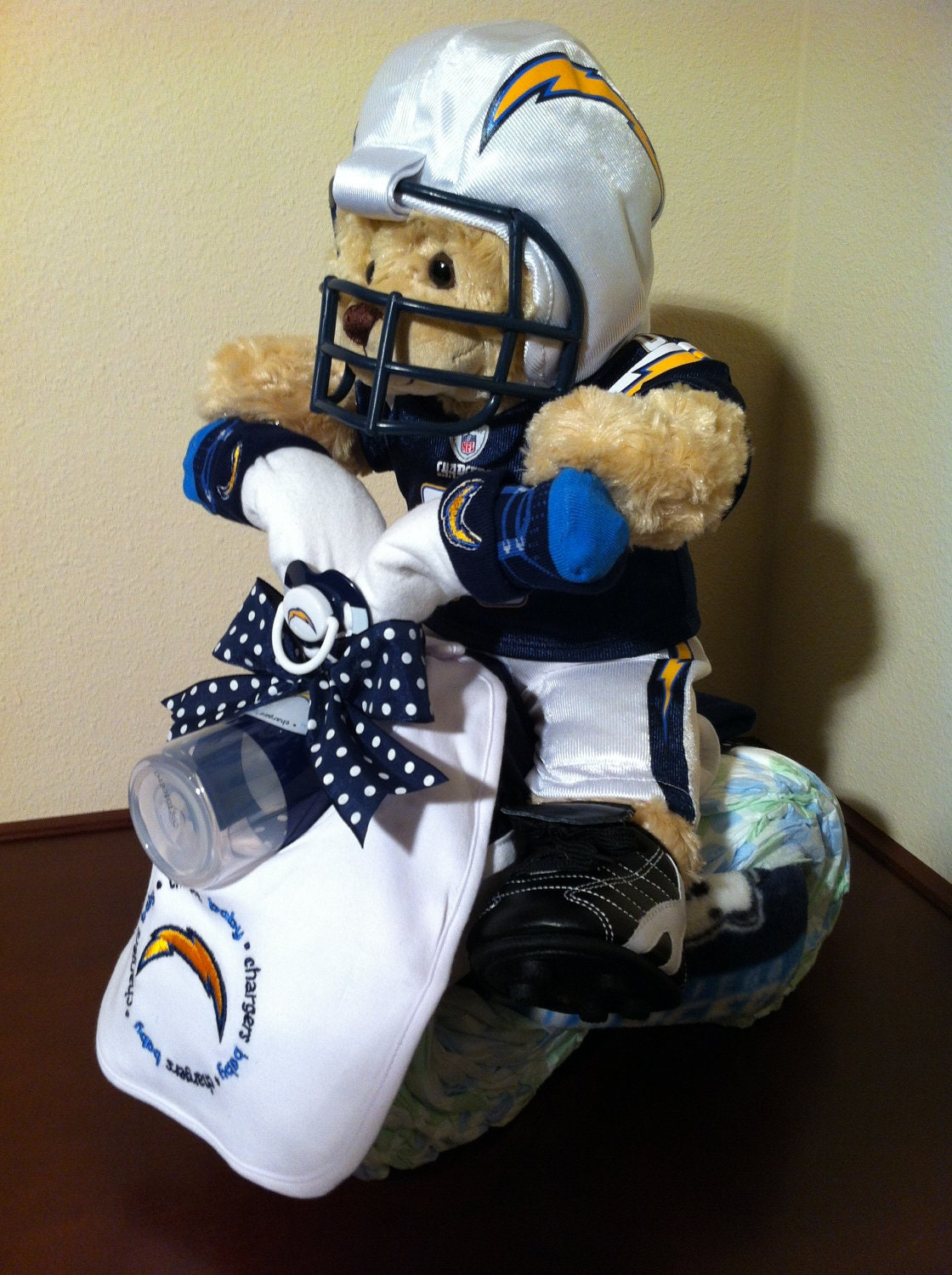 Diaper Tricycle San Diego Chargers By Kcdiapercycles On Etsy