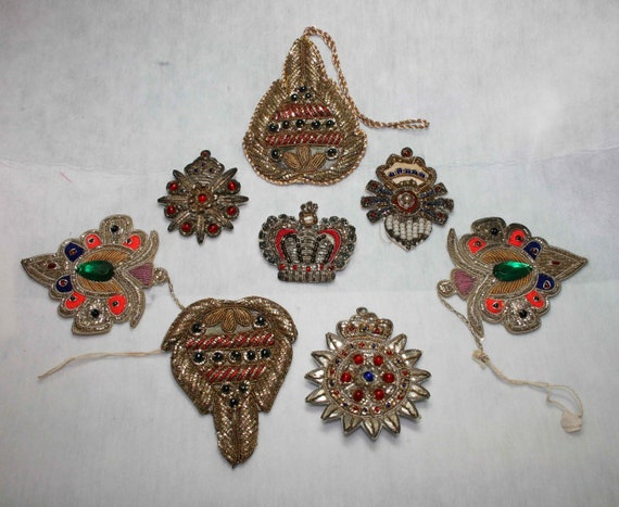 Reserved India Applique Lot of 8