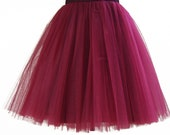 Cherry tutu tulle skirt, petitcoat, high quality tutu skirts