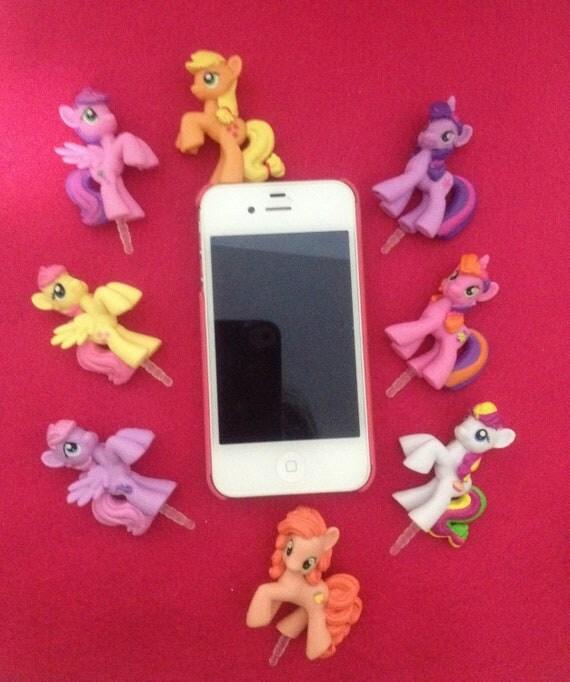 Choose 2 My Little Pony Plugy Earphone Jacks