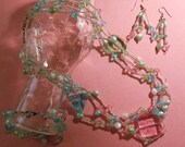 Spring Delight Pastel Necklace - By Germaine G. Egrie
