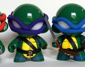 """4"""" Teenage Mutant Ninja Turtles 4"""" Munny set of 4"""