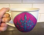 Chandelier Oversized Coffee Mug