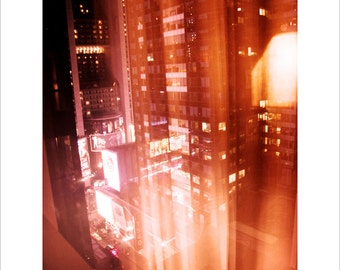 New York Photo, Architecture Photo, Colorful, Times Square