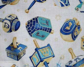 Happy Hanukkah Dreidel Banner