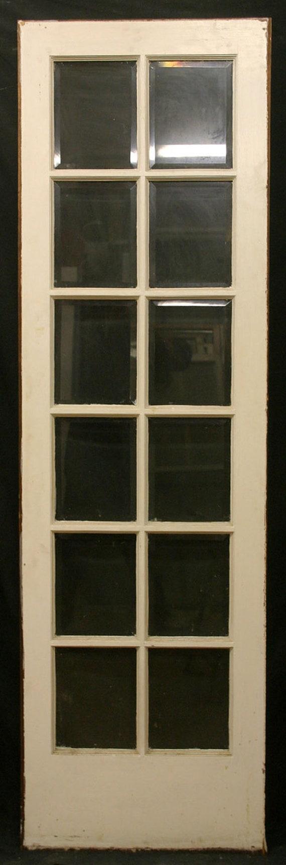 pair 2 antique 24x80 exterior entry door side