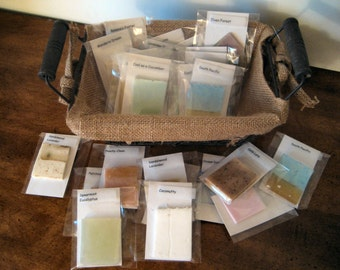 25 Soap Samples - Try Before You Buy