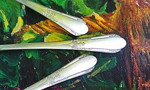 Vintage Silverplate Forks (Set of Eight)