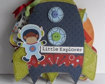 Rocket Mini Scrapbook