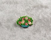 Flower pot pin