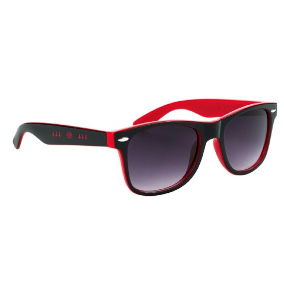 Red and Black Pentagram Sunglasses