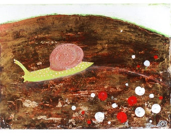 Snail - Original Art - Painting