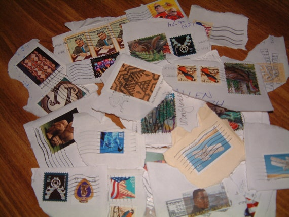 Lot of 20 Used United States Postage Stamps