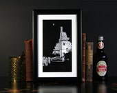 Midnight in Great Tew - Limited Edition Giclee Print by Kate Madigan