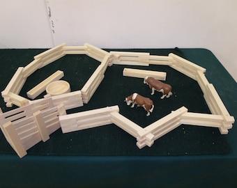 Farm wood play set, Ranch play set
