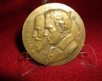 Hudson-Fulton Celebration Commemorative Medal 1909