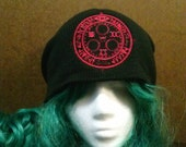 Silent Hill Inspired Halo of the Sun Beanie Skull Cap