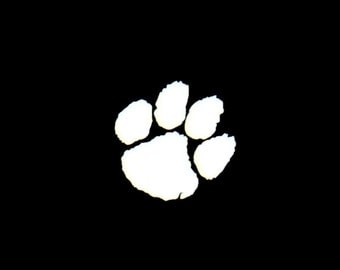 Tiger Paw Vinyl Decal - Your Choice of Vinyl & Color