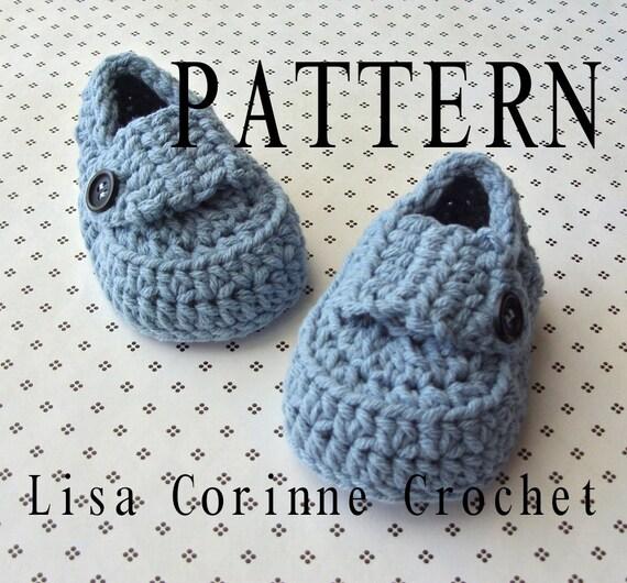 Baby Booties Crochet Pattern Baby Loafers Crochet Booties