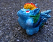 "Rainbow Dash MLP Chibi Pocket Pony, 1"""