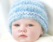 Baby 0-3 Months knitted Beanie Hat  Photo Prop Hat