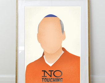 Arrested Development Poster // George Bluth Snr // Home Decor // 11 x 17 // A3 // RIBBA 290 x 390mm