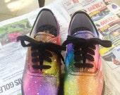 Women's Rainbow Galaxy Shoes