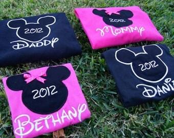 Disney World Shirts for the Family - Mickey & Minnie