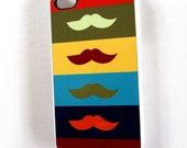 Autumn Mustache iPhone 4 & 4S Cell Phone Case Sassy Cases Fall Colors