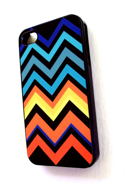 SALE on Colorful Chevron iPhone 4 / 4S Case by Sassy Cases