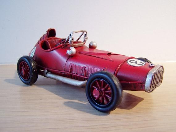 vintage racing car miniature antique race car miniature in. Black Bedroom Furniture Sets. Home Design Ideas