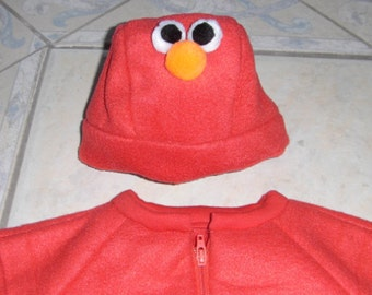 Elmo Fleece Baby-in-a-Bag with Elmo Hat