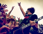 "Jack Barakat of All Time Low Live at Warped Tour 12""x18"" Print - sortalikeadream"