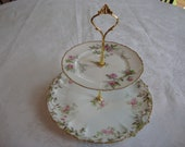 Limoge jewelry stand or cake stand