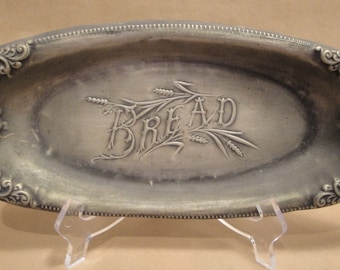 Vintage Oval W R Bread Plate or Platter