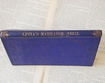 Vintage Book, Lucia's Marriage or The Lions of Wady-Araba A Story of The Idumean Desert