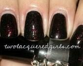 "Mélange ""Bat Blood"" Toluene, Formaldehyde & DBP Free Hand Blended Nail Polish"